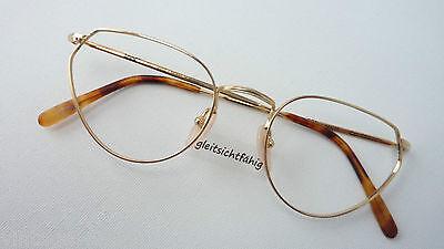 Kleidung & Accessoires Ehrlichkeit Look Made In Italy Ausgefallene Butterflyform Gold Damenbrille 52-20 Edel Size M Unterscheidungskraft FüR Seine Traditionellen Eigenschaften