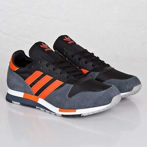 adidas-Centaur-Sizes-7-8-5-Black-Orange-M25436-BNIB-RARE