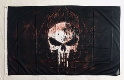The Punisher 3ftx5ft flag banner frank castle marvel action limited time art