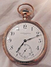 Large Antique Vacheron & Constantin 14K Yellow Gold Pocket Watch