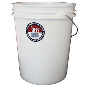 Letica 5 Gallon Indoor Outdoor Resin Original General Residential Bucket USA