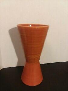 "Mid-Century Modern McCoy Harmony Line Art Pottery Vase 9 1/4"""