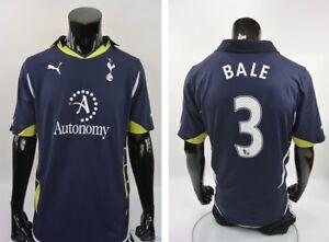 5a67d875 SPURS Puma Tottenham Hotspur Away Shirt Garteh BALE SIZE M (adults ...