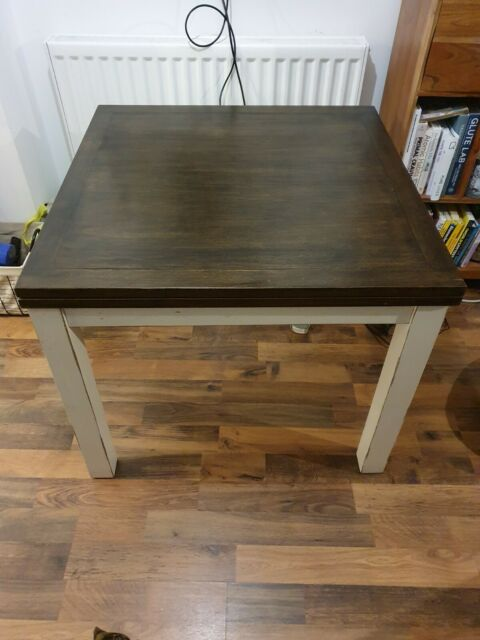 Contemporary Oak Lucerne Extendable Dining Table 120 X 80 To 155 X 80cm For Sale Ebay