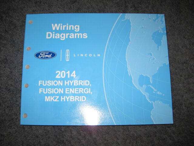 2014 Ford Lincoln Fusion Hybrid Mkz Hybrid Wiring Diagrams