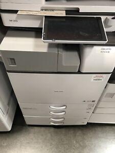 Details about Ricoh afficio mp3055 Blk And White copier,printer,color  scan,clean,low copies