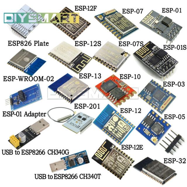 ESP8266 ESP8266 Wi-Fi Wireless Transceiver Receive Module Compatible Arduino AU