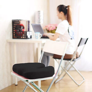NEW-Memory-Foam-SEAT-CUSHION-Base-Posture-Support-Backache-Car-Home-Office-Trave