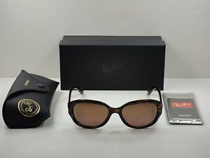 7a4b77979d3 RAY-BAN POLARIZED CHROMANCE SUNGLASSES RB4282CH 710 6B PURPLE MIRROR ...