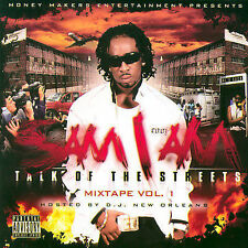 Talk Of The Streets Vol. 1 [PA] * by Sam I Am (CD, Dec-2006, BCD) NEW
