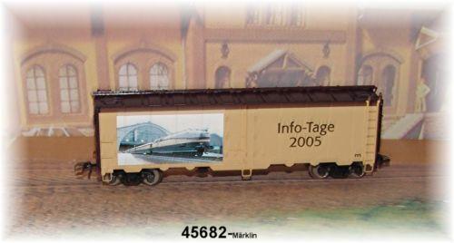 Märklin 45682 Werbewagen Info-Tage 2005 #NEU in OVP#
