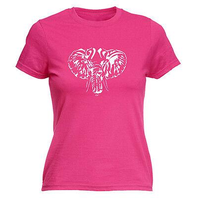 Zielsetzung Funny Novelty Tops T-shirt Womens Tee Tshirt - Elephant Head Wir Nehmen Kunden Als Unsere GöTter
