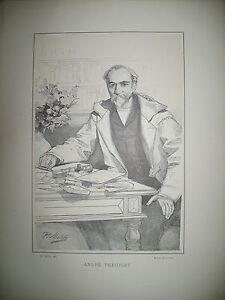 ANDRE-THEURIET-ROMANCIER-DRAMATURGE-PORTRAIT-LITHOGRAPHIE-PAR-MATHEY-1887