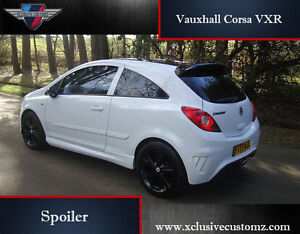 vauxhall corsa vxr spoiler for corsa d tuning ebay. Black Bedroom Furniture Sets. Home Design Ideas