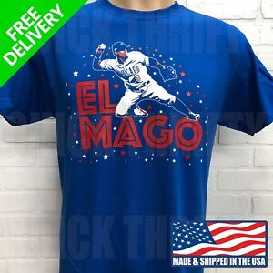 quality design b4089 5a810 Details about CHICAGO CUBS JAVY BAEZ ***EL MAGO*** T-SHIRT