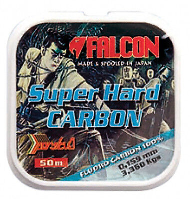 FLUOROCARBON FALCON Persicus Super Hard Carbon 50 mt