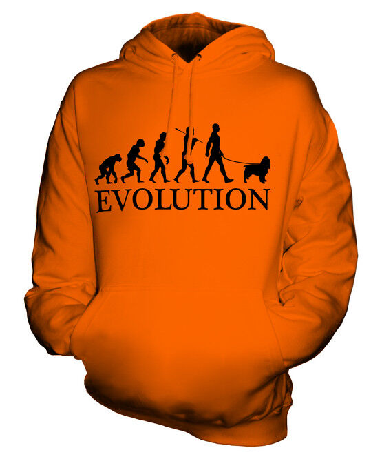 SPRINGER SPANIEL EVOLUTION OF MAN UNISEX HOODIE HOODIE HOODIE MENS damen LADIES DOG GIFT  | Deutschland Online Shop  | Online-Exportgeschäft  | Ausgezeichnet  d89470