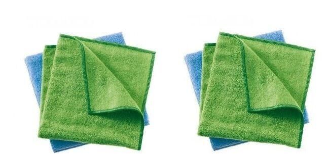 Haka Kunz 4 Flor Net Bambus Baumwoll Tücher  ideal für Hochglanz Oberflächen | Online Shop  | Verkaufspreis