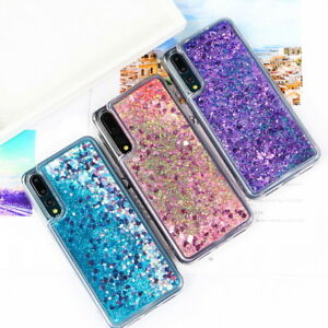 new product 745ff cb31a Details about For Huawei P20 Pro Nova 3i 2S Bling Glitter Quicksand Soft  TPU Phone Case Cover