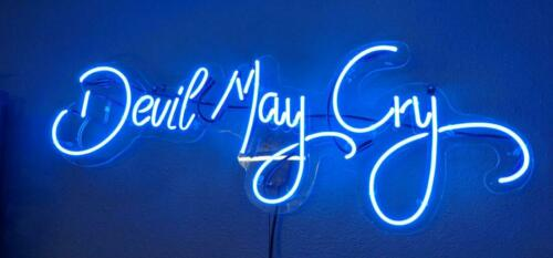 """New Devil May Cry Acrylic Neon Light Sign 24/""""x12/"""" Poster Bedroom Gift"""