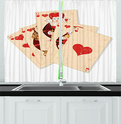 Alice In Wonderland Kitchen Curtains 2