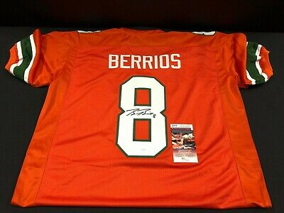 miami hurricanes berrios jersey