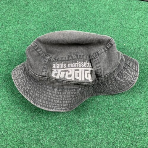90s Alanis Morissette Tour Promo Bucket Hat Cap Co