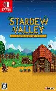 New-Nintendo-Switch-Stardew-Valley-Collector-039-s-Edition-JAPAN-OFFICIAL-IMPORT
