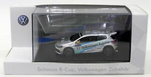 Schuco-Escala-1-43-Modelo-de-Coche-70099-Scirocco-R-CUP-VOLKSWAGEN-zubehor-Plata