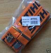 Genuine Stihl Braces Orange 110cm Clips 1510 & Motor Bike Leathers Tracked Post