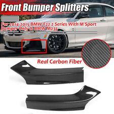 For BMW 2014 220i 228i 235i w// M Sport JPM Carbon Fiber Front Splitter Lip