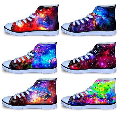 Galaxy Star Girls Boys Kids Flat Canvas