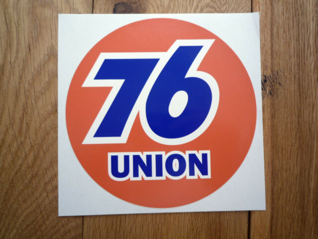 UNION 76 9 inch Classic Style Car Sticker Race Sponsor Racing Nascar Petrol Pump