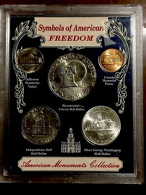 Symbols of American Freedom Silver Coin Liberty Collection UPM