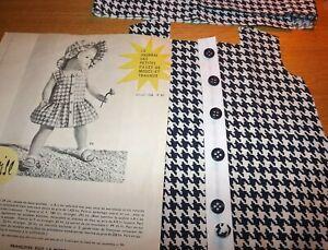 KIT-decoupe-VETEMENT-poupee-FRANCOISE-MODES-et-TRAVAUX-JUILLET-1958-disponible