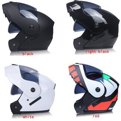 Helmet Full Face Flip Up Sun Visor Motorcycle dual-use helmet  racing running AB