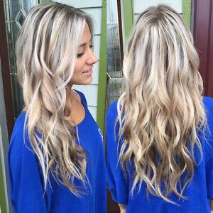 Brazilian 100 Remy Human Hair Wigs Balayage Blonde Lace