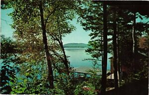 Vintage Postcard - Hemlock Hall Blue Mountain Lake New York NY #3800