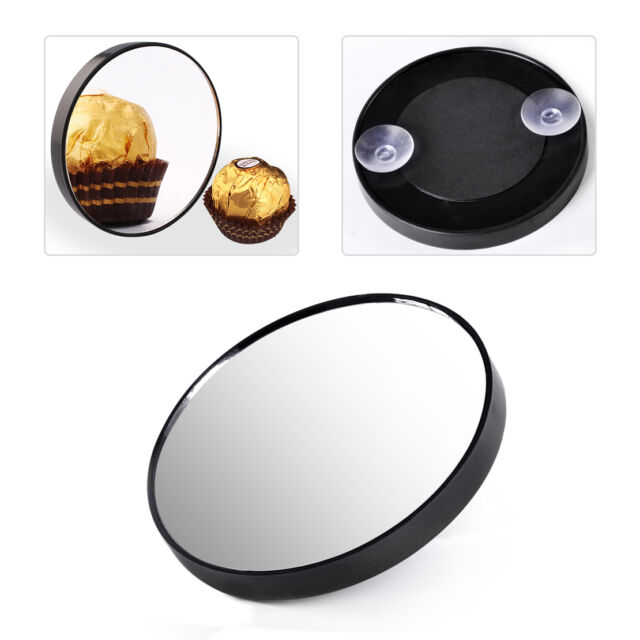 10x Magnifying Magnification Mirror Suction Cup Compact Makeup Cosmetic Travel