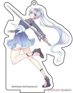 RWBY-Weiss-Large-Acrylic-Key-Chain-Anime-Manga-NEW