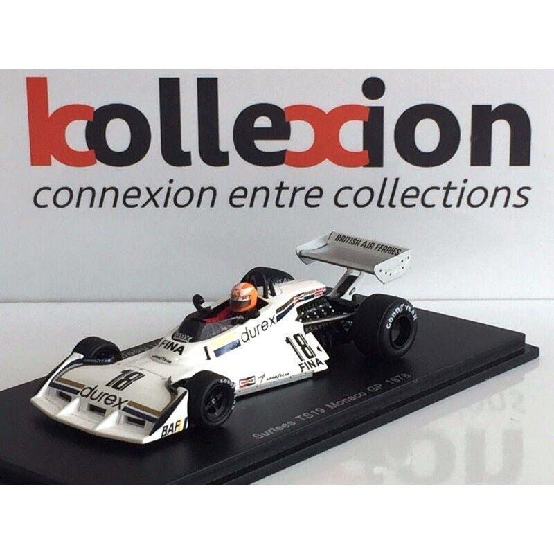 SURTEES TS19 n°18 Monaco GP GP GP F1 1978 - Rupert Keegan 4b0497