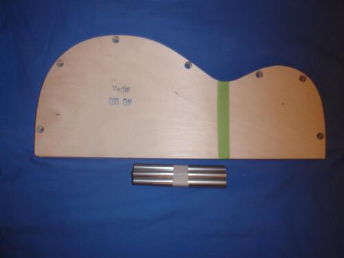 Luthier  Martin Guitar kit mold for 000//OM 14 fret Bending pattern and spreader