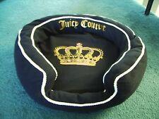 Juicy Couture  - Designer Dog / Cat Pet Bed - Limited Edition - BLACK