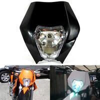 Honda Cr Crf Xr 125 150 200 250 450 600 650 Black Enduro Headlight Fairing