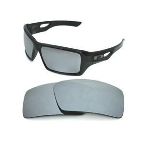 340fae2583 Image is loading NEW-POLARIZED-CUSTOM-SILVER-ICE-LENS-FOR-OAKLEY-