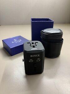 royce new york international travel adapter ebay ebay