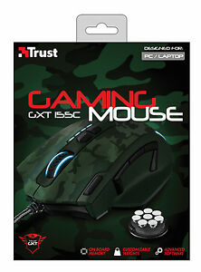 TRUST-ELITE-GAMING-MOUSE-GXT155C-BUILT-IN-CUSTOMISABLE-WEIGHTS-amp-ONBOARD-MEMORY