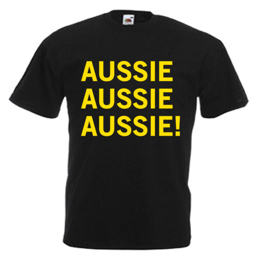3XL Australie jour australien slogan Adultes Homme T shirt 12 Couleurs Taille S