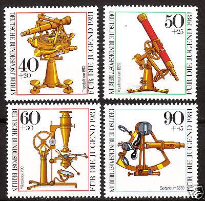 Nr 641-644 Postfrisch Luxus!! PüNktlich Berlin 1981 Mi