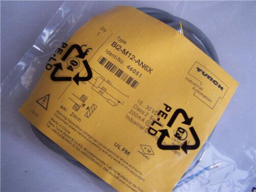 1PCS New Turck Proximity Sensor BI2-M12-AN6X
